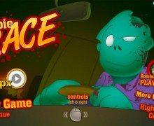 لعبة سيارة دعس الزومبي Zombie Race