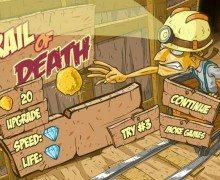 تحميل لعبة جمع الذهب Rail of Death