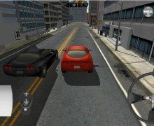 لعبة القيادة في المدينة Thunder City Car Racing