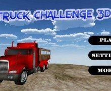 لعبة شاحنات نقل البضائع Truck Challenge 3D