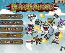 لعبة الحرب والقتال Bearbarians