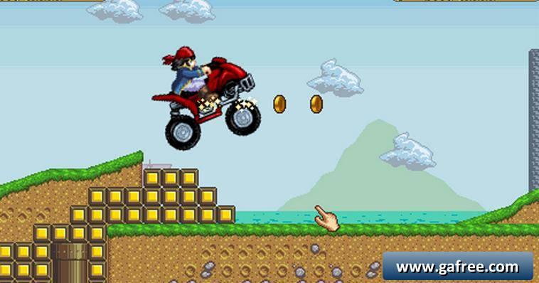 لعبة الدراجات اندرويد Pirate Motocross ATV