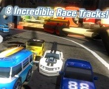 لعبة سباق السيارات Table Top Racing