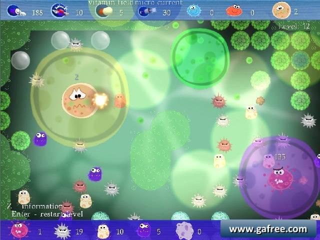 لعبة حرب الفيروسات Micro Balance