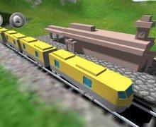 لعبة قيادة القطار Train Sim 3D