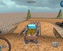 لعبة شاحنة نقل الخشب Truck Delivery 3D