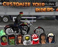 لعبة دراجات الموت Highway Rider