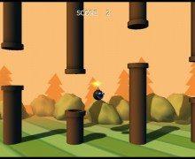 لعبة القنبلة المجنونة Clumsy Bomb