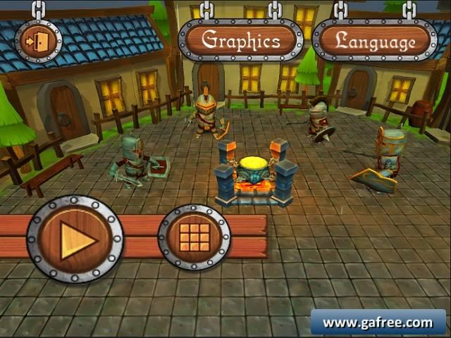 لعبة حرب الدفاع Tower Defence Warriors