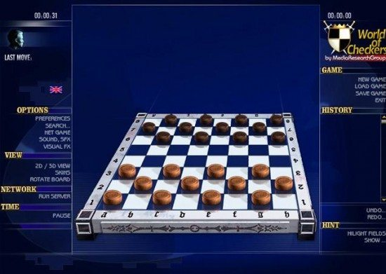 تحميل لعبة الداما World of Checkers
