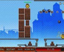لعبة تفجير الروبوتات Angry Robots