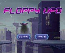لعبة الاطباق الطائرة Floppy UFO