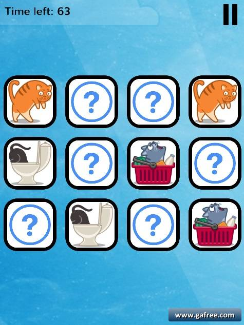 تحميل لعبة الذاكرة للاطفال Remember Cat