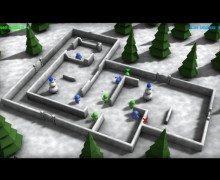 تنزيل لعبة المتاهة Snow Chaos