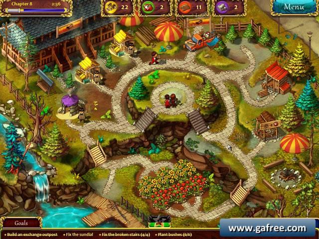 تحميل لعبة المزرعة السعيدة مجانا Gardens Inc
