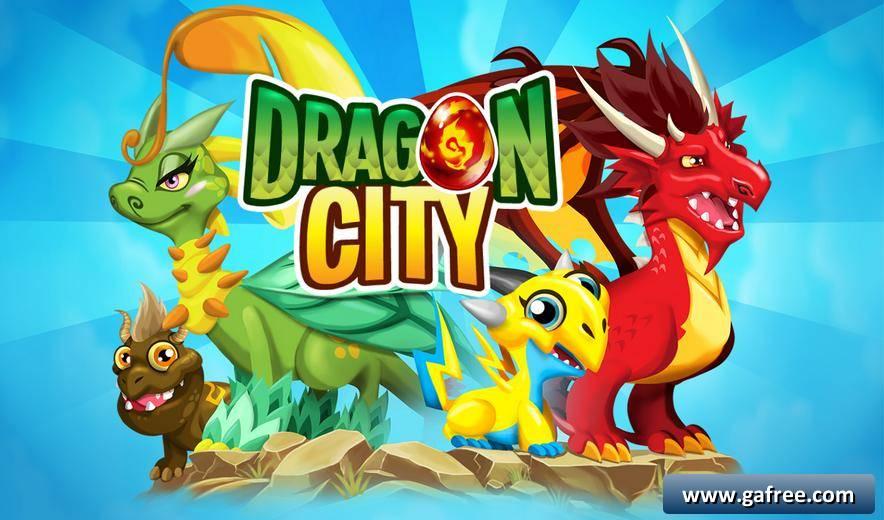 لعبة دراجون سيتي Dragon City