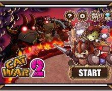 لعبة حرب القطط Cat War2