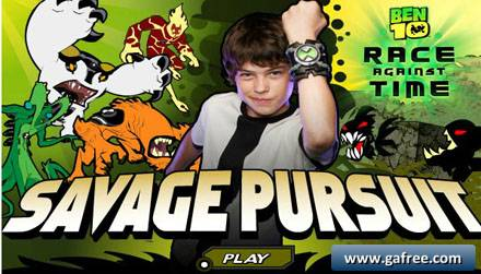 لعبة بن تن المتحول Ben 10 Savage