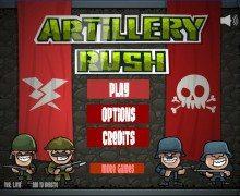 لعبة هجوم الجيش Artillery Rush