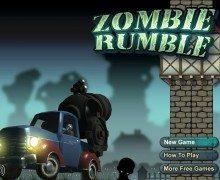 لعبة المدفع الخارق Zombie Rumble