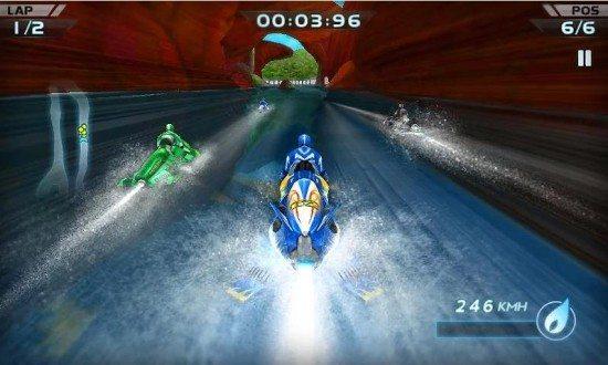 لعبة سباق الدراجات المائية Powerboat Racing 3D