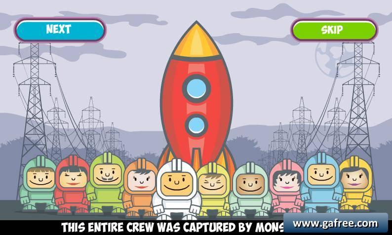 لعبة وحوش الفضاء Spaceman vs Monsters