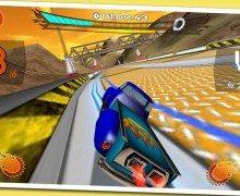لعبة سباق سيارات اندرويد Retro Future Racing