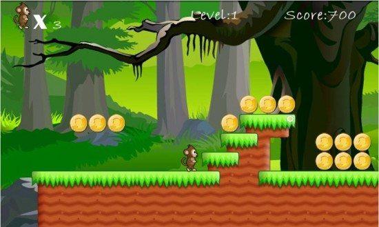 تحميل لعبة القرد Jungle Monkey Saga