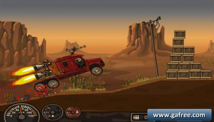 لعبة سيارة قاتلة الزومبي Earn to Die