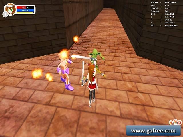 لعبة الاميرة المحاربة Princess Warrior