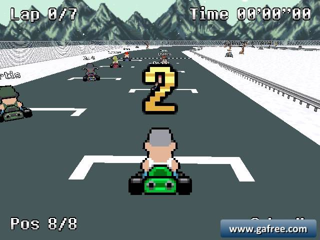 تحميل لعبة سباق العربات Testosterone Karting