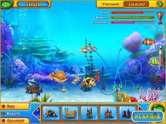 تحميل لعبة fishdom