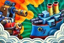 لعبة المعركة الحربية Iron Sea Defenders