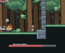لعبة المغامرات الممتعة Jabless Adventure