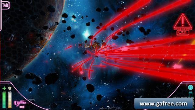 لعبة حرب الفضاء الاستراتيجية Neon Trigger