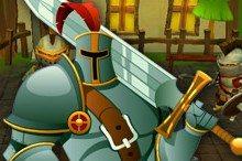 لعبة الدفاع عن القرية Warriors Outpost