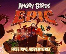لعبة الطيور الغاضبة للجوال Angry Birds Epic