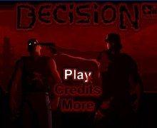 لعبة مدينة الزومبي Decision