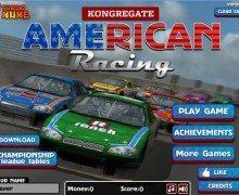 لعبة سباق السيارات الامريكية American Racing