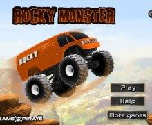لعبة الشاحنات الوحش Rocky Monster