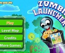 لعبة رمي الزومبي Zombie Launcher
