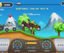 لعبة سباق السيارات اون لاين Hill Racing Online