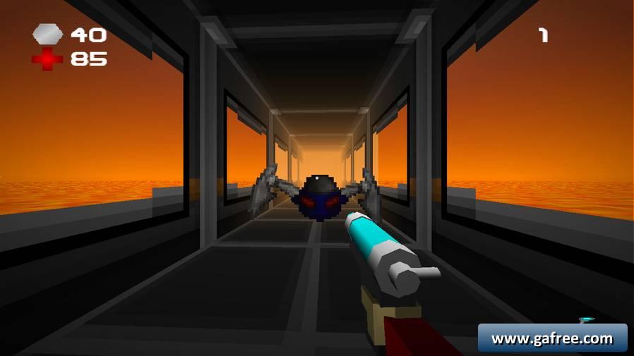لعبة قتال في الفضاء Spaceman Adventure