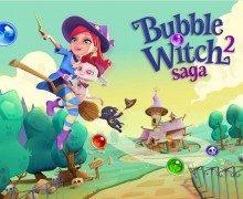 لعبة الفقاعات الملونة Bubble Witch 2 Saga