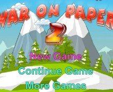 تحميل لعبة تفجير القنابل War on Paper 2