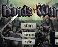 تحميل لعبة برج الدفاع Hands of War Tower Defense