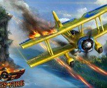 لعبة قيادة الطائرة Wings on Fire