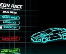 لعبة القيادة السريعة بين السيارات Neon Race
