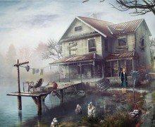لعبة البيت المرعب The Lake House Free