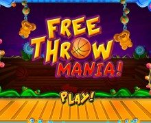 لعبة تسديدات كرة السلة Free Throw Mania